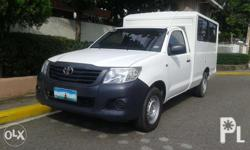 - Toyota Hilux FX Van 2013 - manual transmission - in