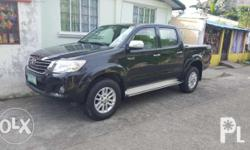 For sale!!!! Toyota Hilux G 4x2 MT 2012 Manual
