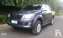 - Toyota Hilux Series G 2012 - manual transmission -
