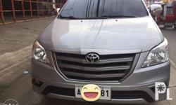 For Sale; Innova E MANUAL TRANSMISSION Only 25k-30k