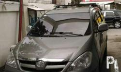 For sale Toyota innova G 2005 Manual Diesel Very well