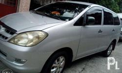 Toyota Innova J,diesel,manual transmission,with