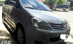 Toyota innova E Manual 2011 model Almost new Nothong 2