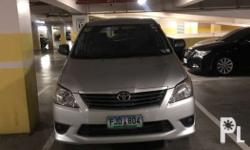 2013 Toyota innova e auto matic diesel first owner