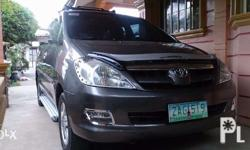 Toyota Innova G 2005 Model, top of the line