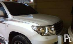 Toyota Land Cruiser 2011 Dubai Version, White Complete