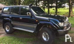 For Sale Toyota Landcruiser VX80 Local unit With orig