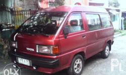 Model '92 Good running condition Manual transmission