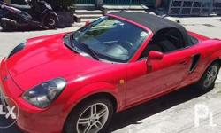 Toyota MRS manual Red convertible 500k cash negotiable
