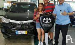 Toyota Global City Inc. Low down payment promo! Option