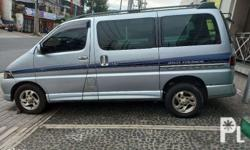 Toyota hiace regius Wind Tourer top of dline Turbo