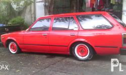 Toyota Station wagon, complete OR and CR, nice and