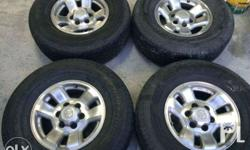 16inch Toyota Surf Stock Mags Used 6 Holes PCD 139 Good