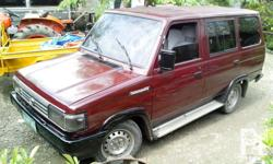 Toyota tamaraw fx Engine:2c (DIESEL) 94mdl Power
