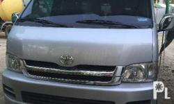 Toyota Hiace GL Grandia 2008 Model, Excellent Running