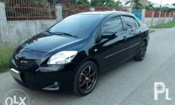 Toyota vios E 2009 Manual trans Sporty look Mags rim 17