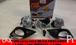 Toyota vios Foglamps Php 3,800.00 Stock bulb With 6mos