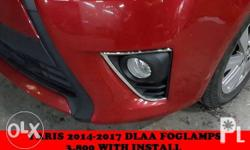 Yaris 2014- 2017 Foglamps Php 3,800 Install included