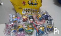 For sale toys.(mixed brands) -10pcs.minions complete
