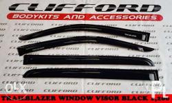 trailblazer window visor black 1,200 visit us for free