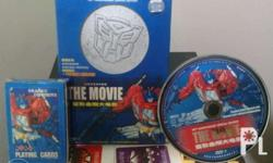 Transformers DVD Box Set includes the Animated G1 Movie