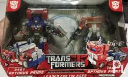 Transformers Optimus Prime - Leader of the Ages, Mint