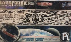 Transformers Optimus Prime Mechtech Trailer Special