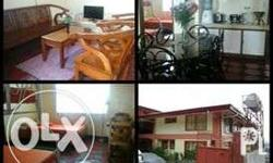 fully furnished 2 storey house with kitchen,living room