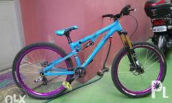 Transition double full suspnsion mtb size small fox