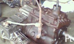 TRANSMISSION WITH TRANSFER CASE ASSEMBLY FOR BJ-40 LAND