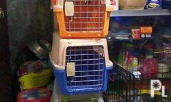 Travelling Dog Cages for small breed type dog and also