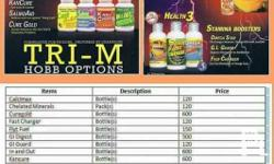 Tri M Products For Racing Pigeon Vitamins, Supplements,