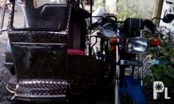 Rush sale..Tricycle w/ sidecar, Makinis..in good
