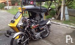 Honda Tmx with sidecar 2006model complete papers OR/CR