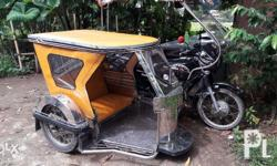 Tricycle sidecar only 80% stainless Front and back