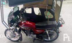 Tricycle(Motor and sidecar) Honda TMX 125 with