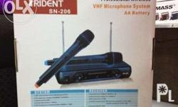 Brand new trident wireless microphone includes 2