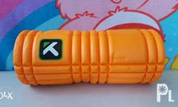 The GRID foam roller is designed with proprietary