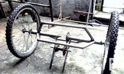 convert any single 2 wheeled bicycle to a 3 wheeled