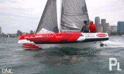 Brand-new Corsair Pulse 600 Trailer-able Trimaran