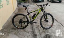 Selling my 2 months old mtb for only 15,000 pesos.