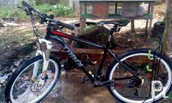 Trinx MTB 10 speed fork: Epicon Crank set: Deore RD: