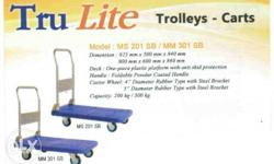TRULITE Trolley - Carts Plastic platform with anti-skid