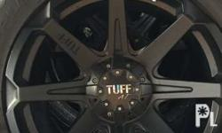 Tuff rim 275/55/20 100% authentic In good condition as