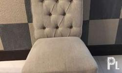 Pre-owned accent chair. Good for Dining/Living Room. 2