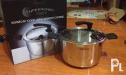 The TUPPERCHEF Inspire Cookware Collection is specially