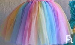 Tutu Dress Size: 1-2 years old. Wear only once for my