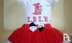 Made to order tutu dress and skirt sets available at fb