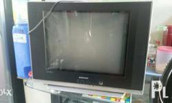Package deal 21inches samsung tv slim series plus stand