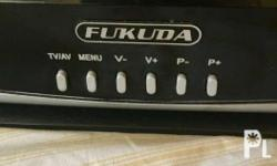 1 Fukuda tv 14 inches 3 month used, orig price 2,400 3